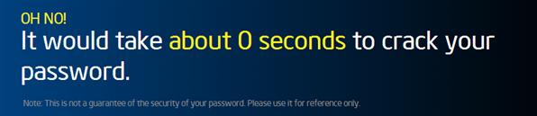 Intel mot de passe