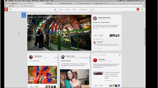 Google+ Mai 2013