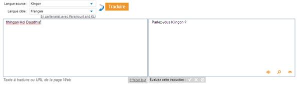 Bing Klingon