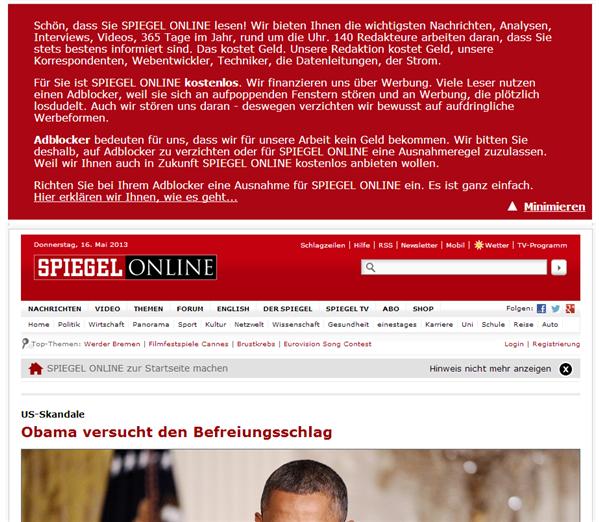 Adblock Plus Allemagne