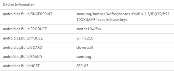 Samsung Galaxy Tab P5200