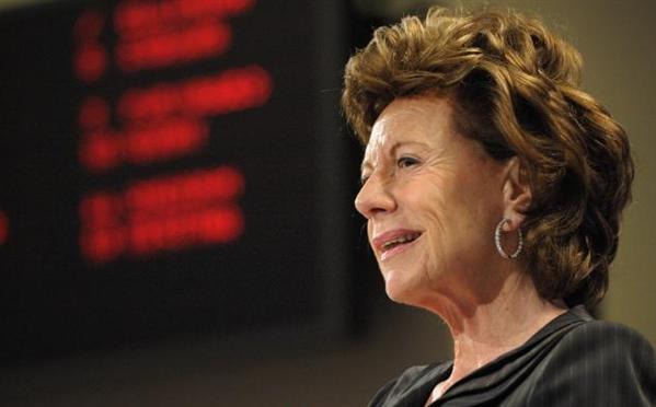 Neelie Kroes photo de la Commission
