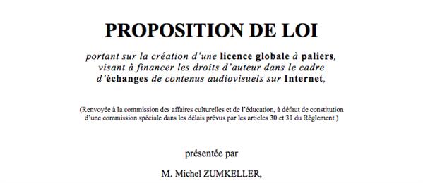 zumkeller loi licence globale