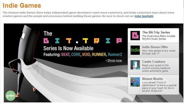 Amazon Indie games