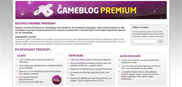 Gameblog Premium