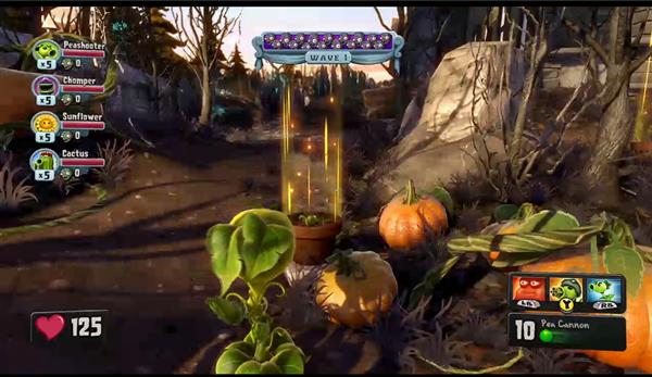 Plant vs Zombie Garden Warfare