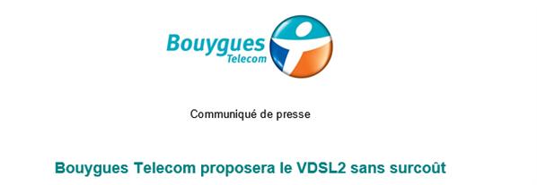 Bouygues Telecom VDSL2