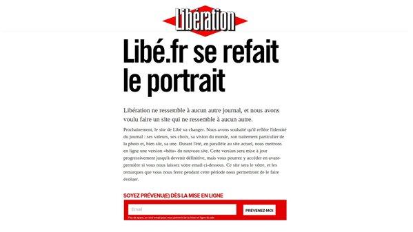 Libération Nouvelle version