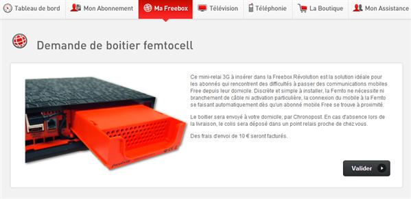 Free Femto-cells