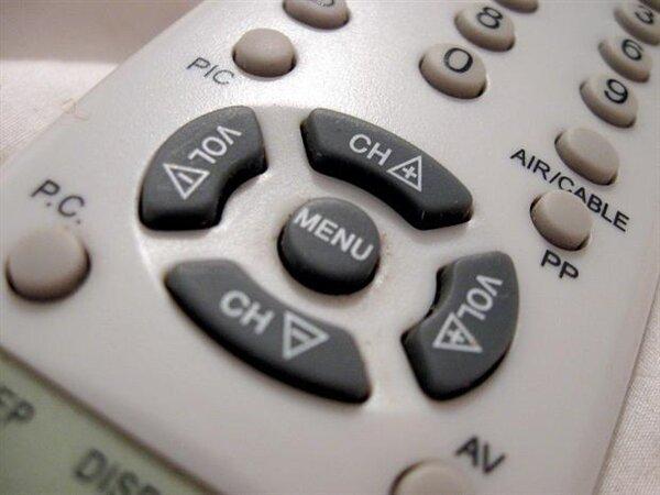 télécommande TV télévision