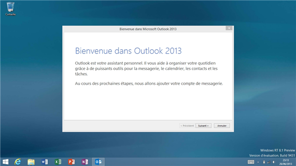 outlook 2013 rt