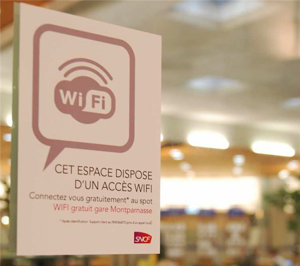 Wi-Fi gares SNCF