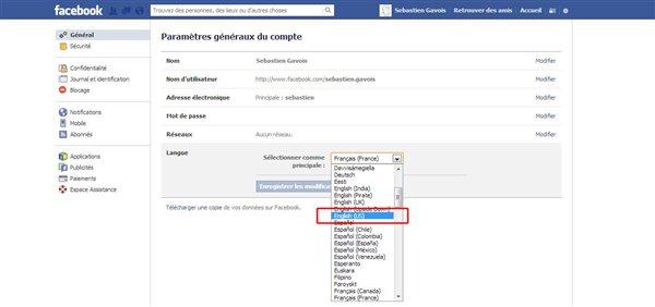 Facebook compte