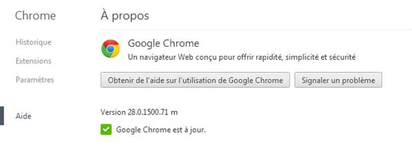 Chrome 28