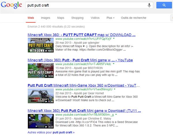 Putt-Putt Minecraft