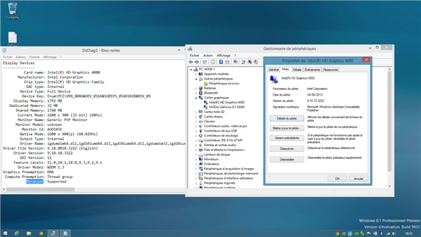Intel Pilote Windows 8.1 Miracast