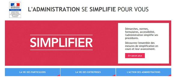 simplification choc administration