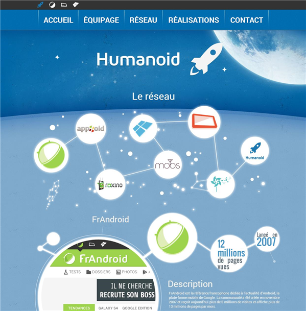 Frandroid Humanoid