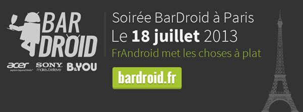 BarDroid