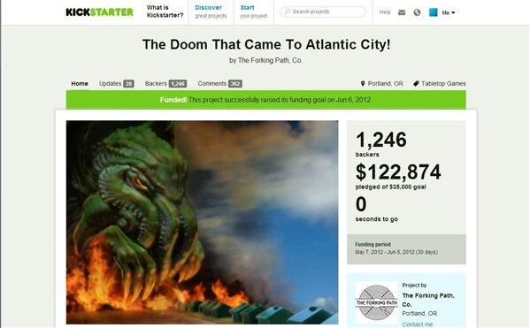 The Doom Kickstarter Fail
