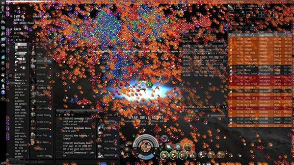 Eve Online Fountain Battle