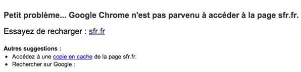 SFR.fr HS