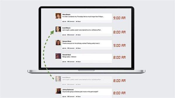Facebook Flux d'actualité Bump