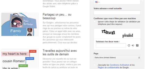 captcha gmail