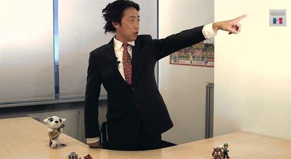 Satoru Shibata PDG Nintendo Europe