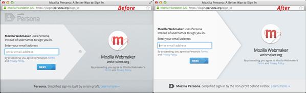 Persona Mozilla Marque