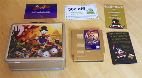 Ducktales NES Limited Edition