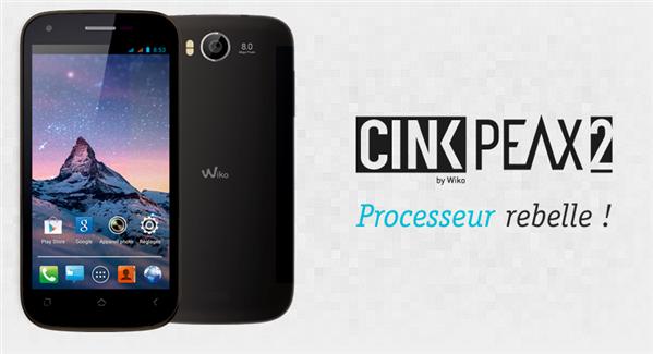 Wiko Cink Peak 2