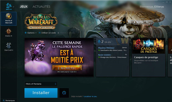 Battle.net client beta