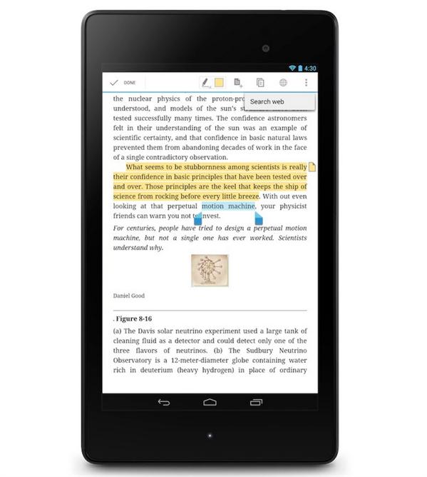 Google livres surlignage
