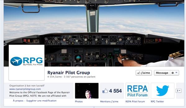 ryanair pilot group facebook