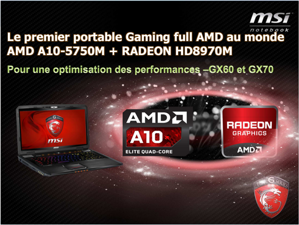 MSI Full AMD GX 60 Richland