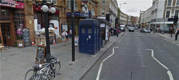 Google Maps Tardis