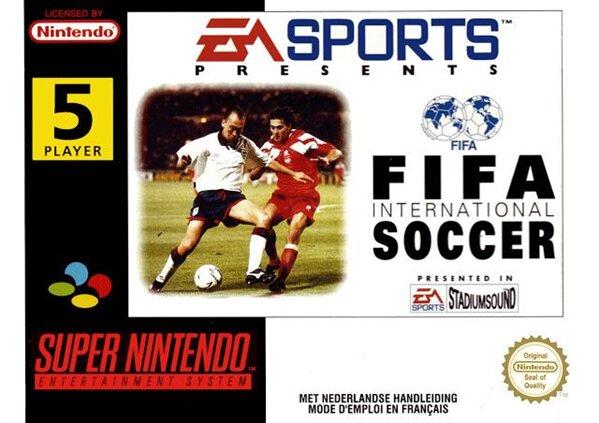 FIFA International Soccer SNES
