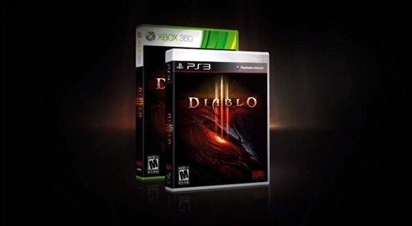 Diablo III console boite