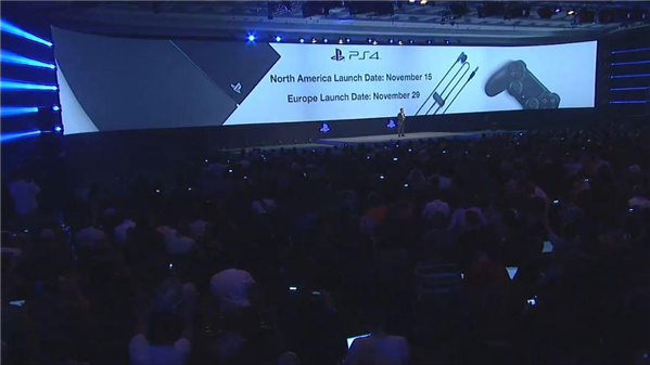 Sony Gamescom launch date