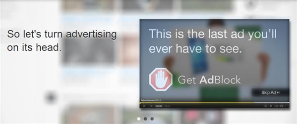 AdBlock Chrome Publicité