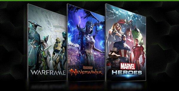 Nvidia free to play Bundle GTX 650