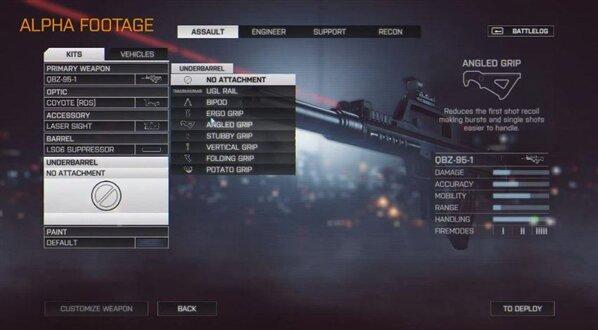 Battlefield 4 custom