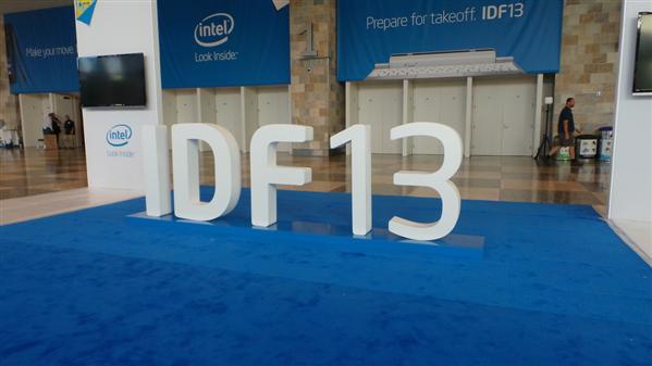 Intel IDF 2013 Keynote Day 1