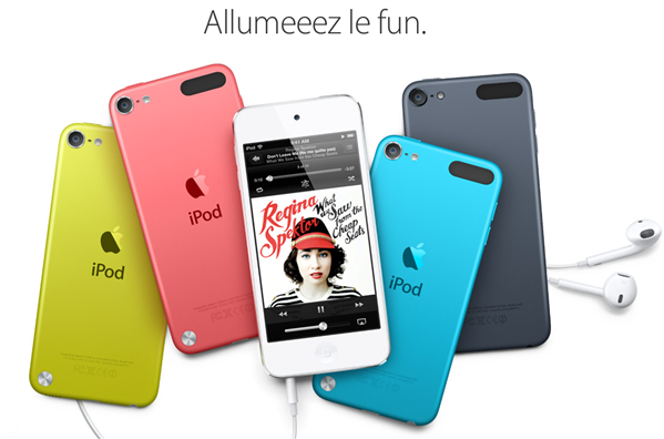 iPod Touch couleur