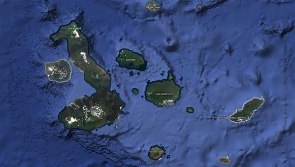 Galapagos Stree View