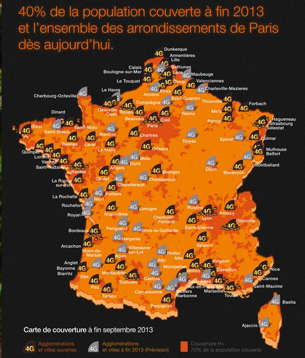 Orange 4G LTE 2013
