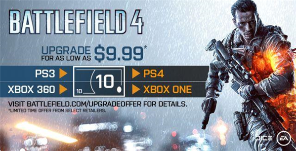 Battlefield 4 upgrade next gen