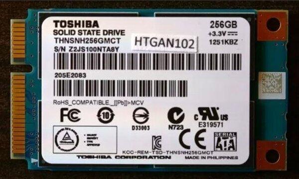 Toshiba Client mSATA SSD