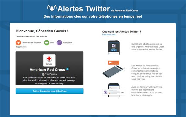 Twitter Alertes
